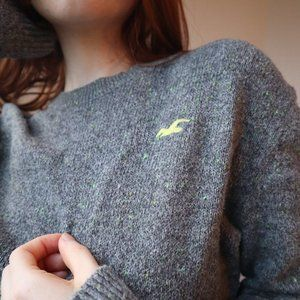 Soft Grey American Eagle Sweater | Size Small